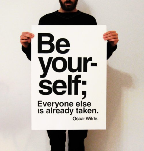 _be yourself