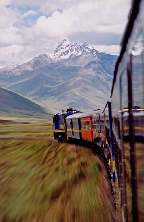 train mountain