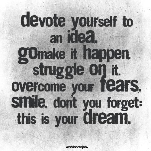 devote yourself
